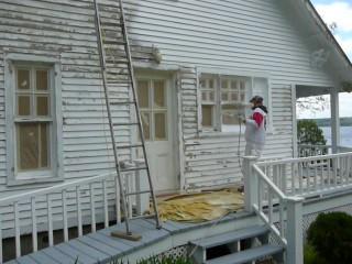 travaux de peinture de maison ancestrale à Beaumont