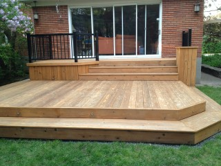 Preview for Patio exterieur en bois