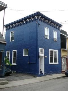 Entrepreneur peintre - Peinture de brique Québec - Produit : Peinture extérieure - Image : P1030246.JPG