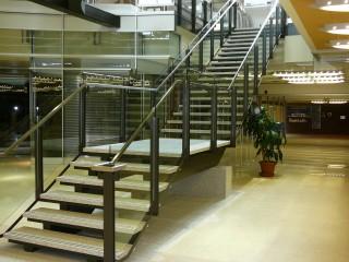 Entrepreneur peintre - Peinture escalier fer forgé intérieur - Produit : Peinture intérieure - Image : P1030260.JPG