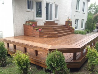Peinture patio | Donnacona