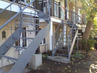 Réalisation de Peinture escalier fer forgé