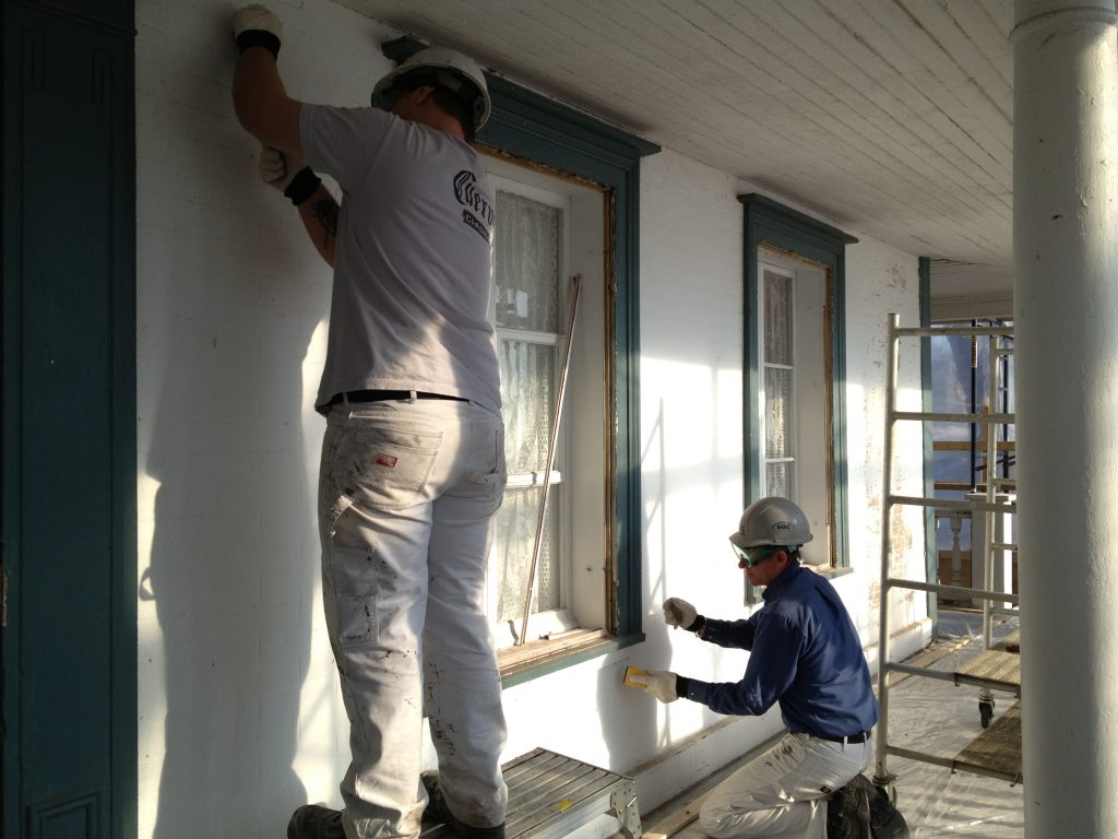 R novation restauration maison patrimoine for Restauration facade maison