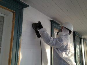 Equipements et vêtements protecteurs pour peinture au plomb