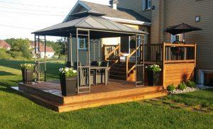 Teinture de patio et terrasse / Victoriaville