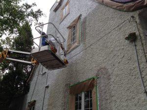 Vaporisateur au spray - Peinture sur stuc, agrégat, enduit acrylique