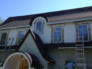 peinture extérieure de maison