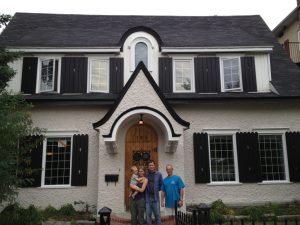 peinture extérieure de maison du patrimoine