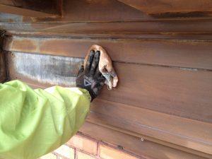 Nettoyage et décontamination sur corniche