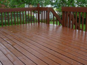 Service de peinture de patio