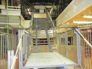 Peinture escalier fer forgé intérieure