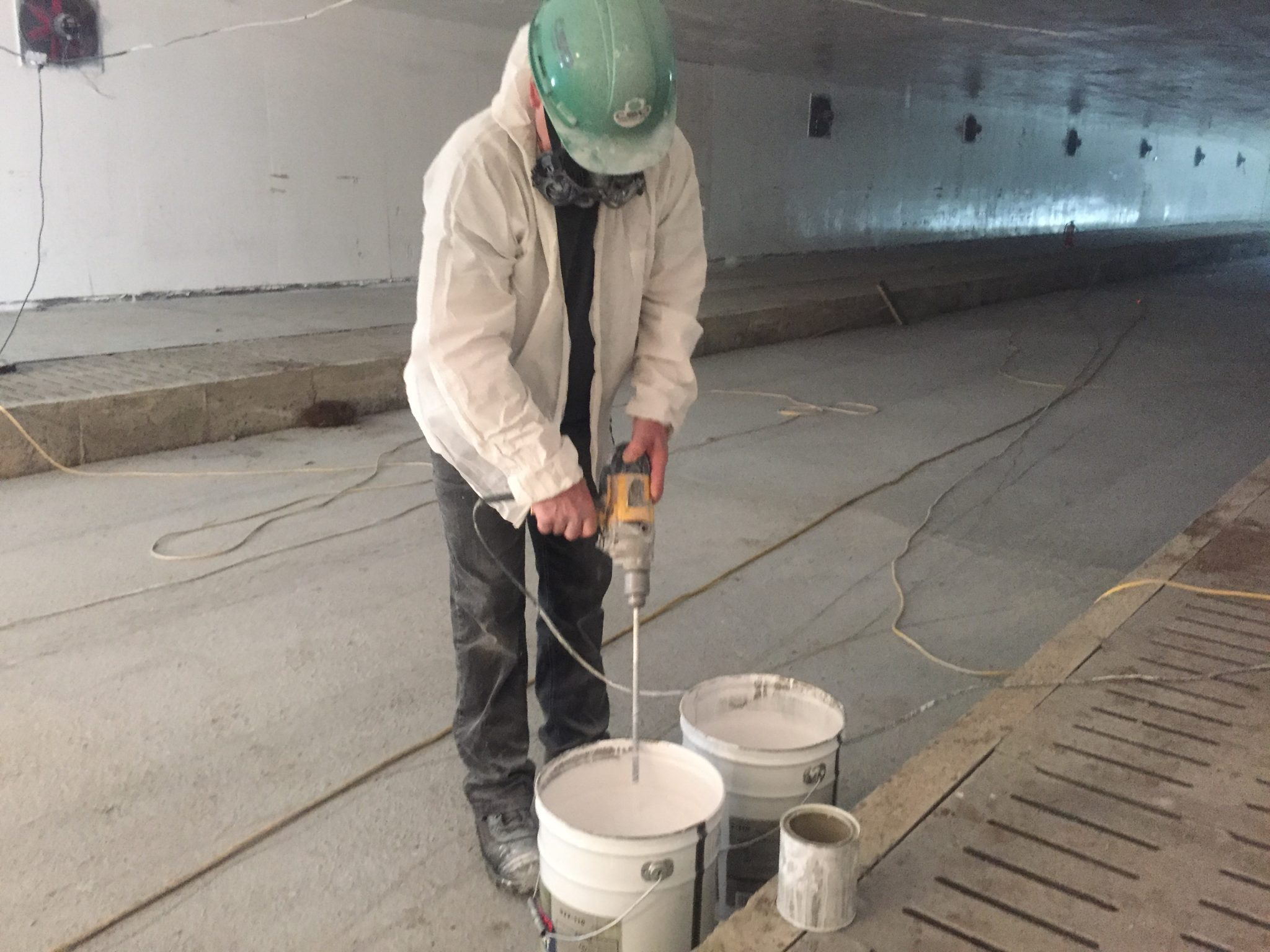 Peintre commercial exemple de chantier de peinture a mont - Type de peinture interieur ...
