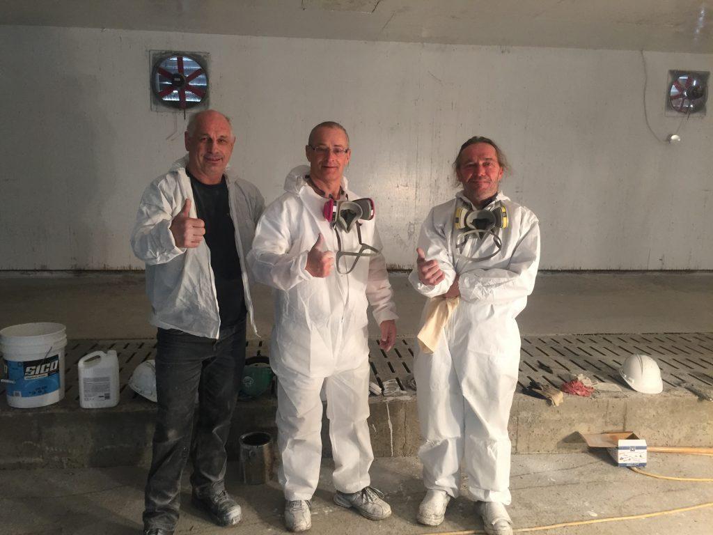 Déco Romax et son équipe de peintre en bâtiment Rimouski