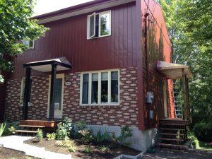 Entrepreneur peinture extérieure sur aluminium - Québec