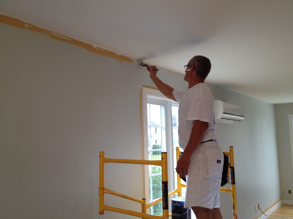 Peinture int rieure qu bec quels facteur pour obtenir un prix - Peinture pour maison interieur ...