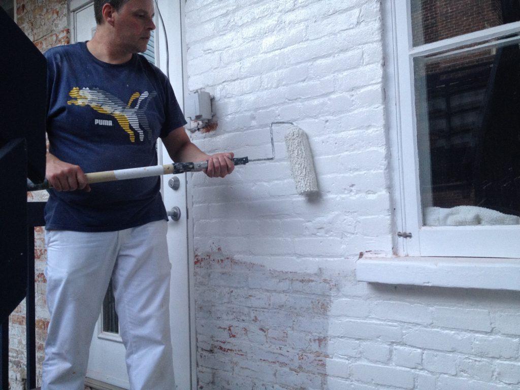 peintre pour restauration ext rieure des murs de brique. Black Bedroom Furniture Sets. Home Design Ideas