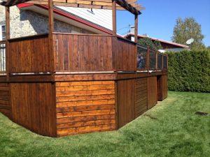 Peinture de patio et terrasse - Prix