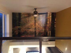 Pose revêtement mural décoratif