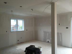 Rénovation intérieur plâtrage et tirage de joint