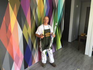 Pose papier peint mural Trois-Rivières