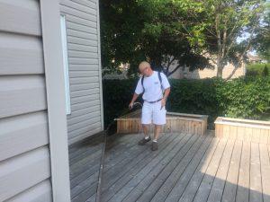Vaporisateur mécanique professionnel - Nettoyant à terrasse et patio