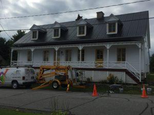 Entrepreneur peinture toiture galvanisée