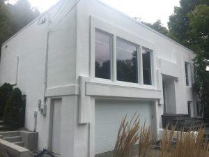 Entrepreneur spécialiste peinture extérieur sur stucco