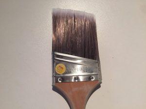 Pinceau coupe en biseau