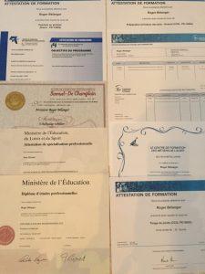 Certificats de compétence - Peintre en bâtiment