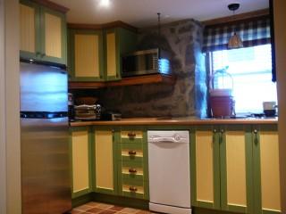 peinture armoires de cuisine - - Peindre Des Armoires De Cuisine En Bois
