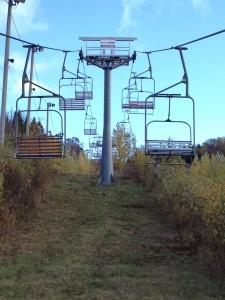 Pylone ski saint raymond
