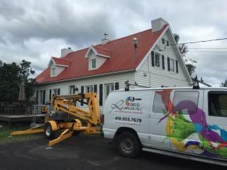 camionette peinture toiture