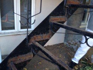 Peinture Escalier Fer Forge Exterieur