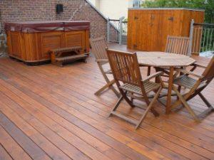 Teinture de patio et terrasse