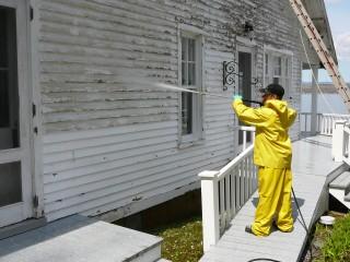 nettoyage haute pression maison ancestrale