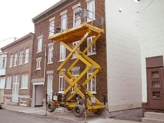 palt-forme pour reparation facade