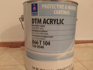 peinture DTM acrylique