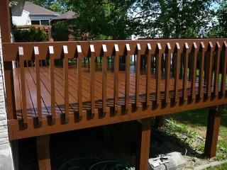 peinture de patio quebec