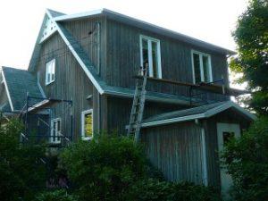 peinture ext maison maibec