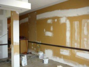 reparation et application sous couche