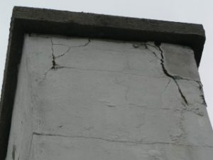 reparation fissure stucco