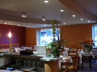 salle restaurant peinture