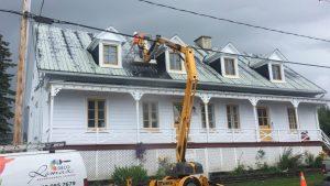 Nettoyage de toiture haute pression
