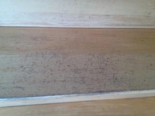 Inspection d'escalier