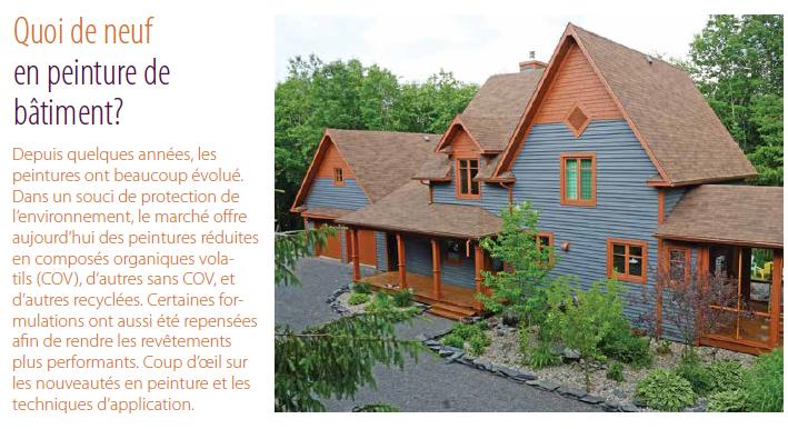 Magazine Quebec Habitation aout 2015